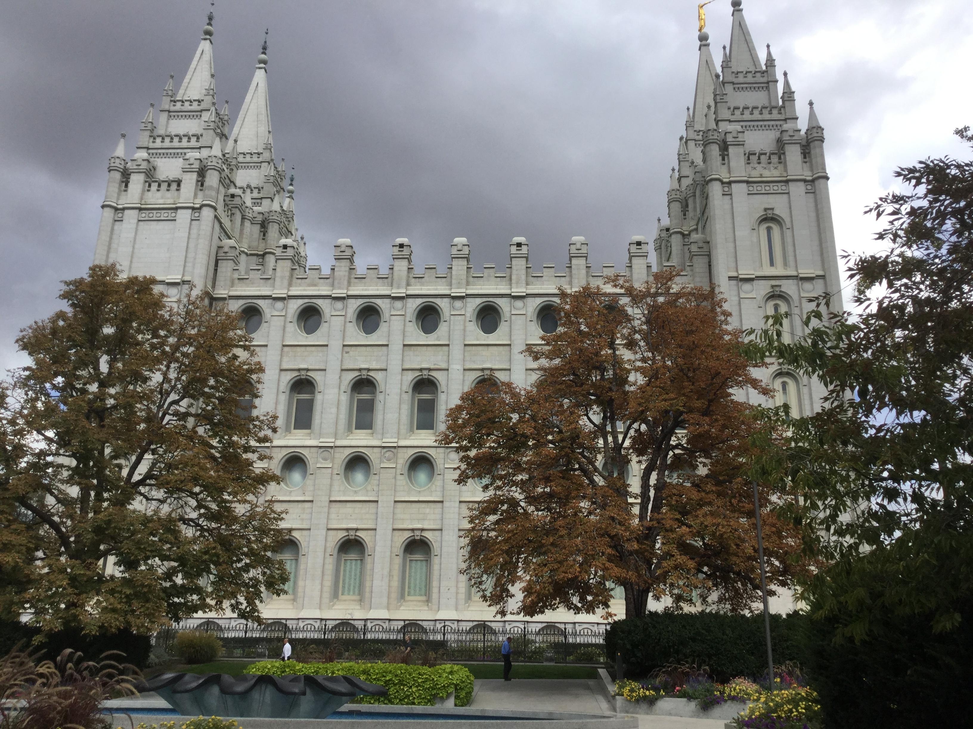 Salt Lake City,  Richtung Westen