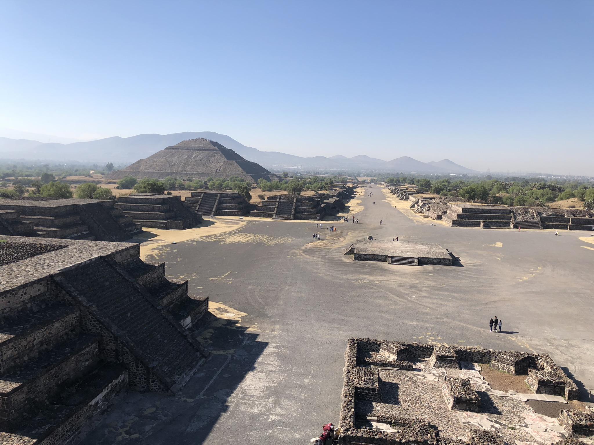 Mexico City, Teotihuacan Pyramiden