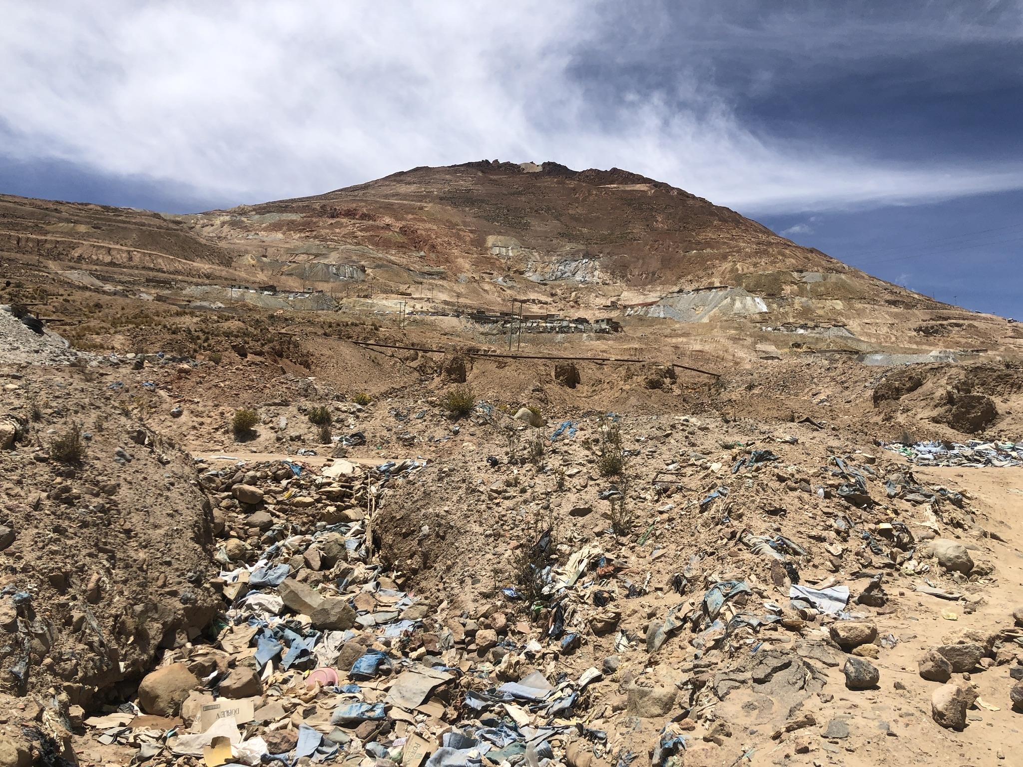 Cerro Rico, Grenze Argentinien, Salta